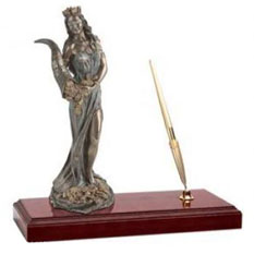 Настольный прибор «Богиня Фортуна»
