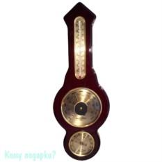 Метеостанция с барометром, термометром и гигрометром