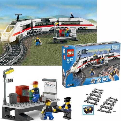 Набор Lego City Пассажирский поезд