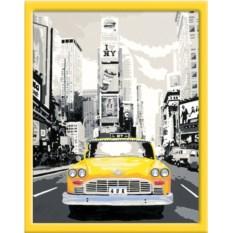 Раскраска по номерам Ravensburger Такси в Нью-Йорке
