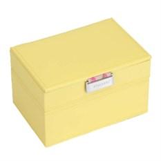 Шкатулка для драгоценностей LC Designs желтого цвета