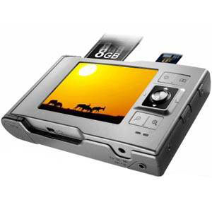 Цифровой фотоальбом Vosonic VP5500 (250Gb)