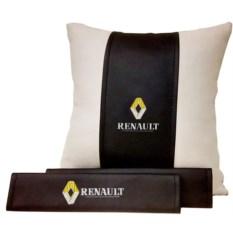 Набор из подушки и накладки на ремень безопасности Renault