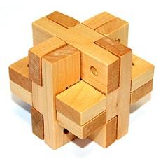 Головоломка деревянная (К6)