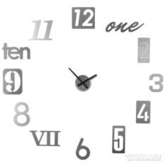Алюминивые настенные часы Numbra