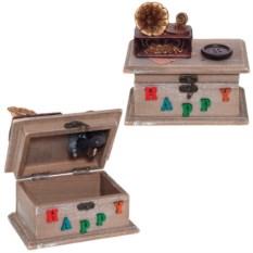 Музыкальная шкатулка Граммофон, размер15х10х15 см