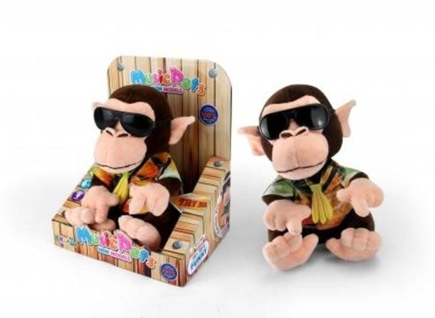 Интерактивная игрушка «Диджей-обезьянка»