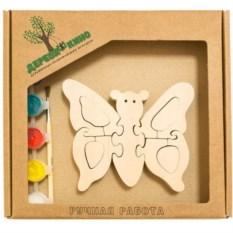 Развивающая игрушка Бабочка с красками