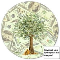 Коврик для мыши Дерево из долларов