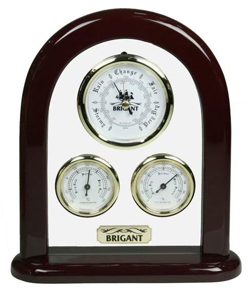 Барометр-метеостанция настольная; термометр, гигрометр
