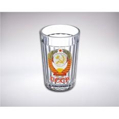 Граненый стакан «Герб СССР»