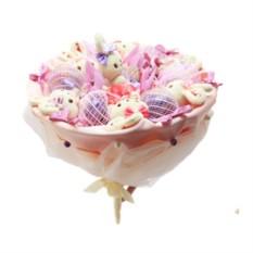 Букет из конфет Пушинка