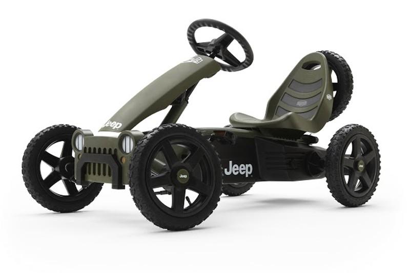 Детский веломобиль BERG Jeep Adventure BFR