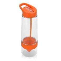 Оранжевая бутылка для воды Фреш