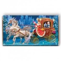 Шоколадная открытка «Волшебная карета»