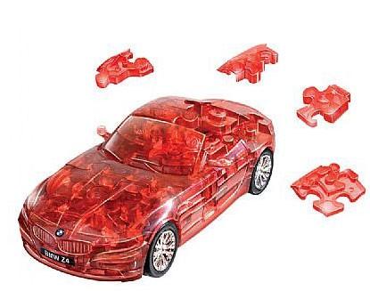 3D головоломка БМВ Зет 4 (разобранный, красный)
