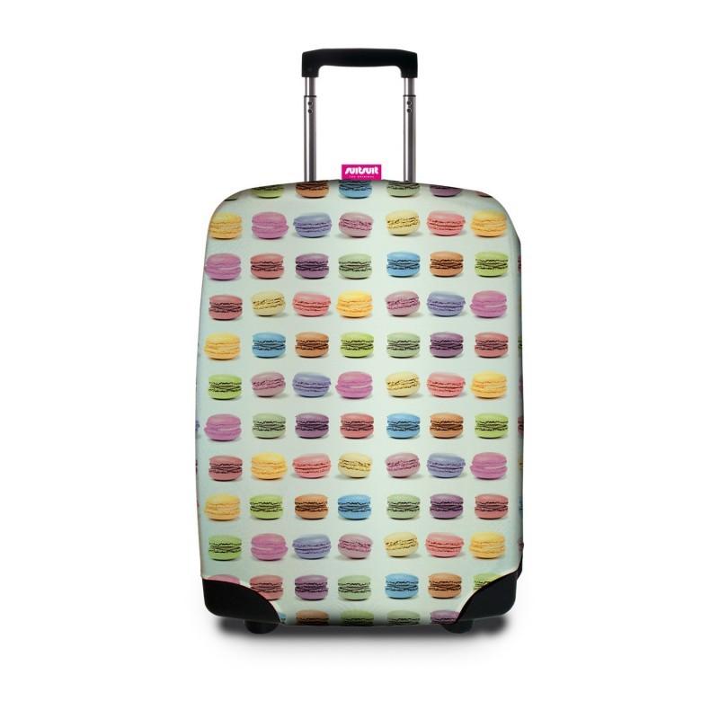 Чехол для чемодана SUITSUIT - Macarons