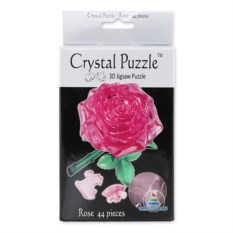 3D-головоломка Crystal Puzzle «Роза» из 44 деталей