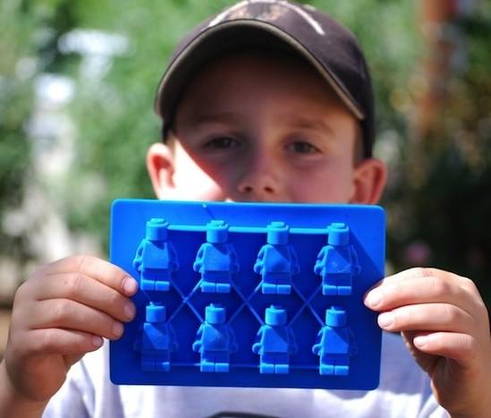 Форма для льда Человечек Лего