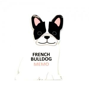 Отрывной блокнот French Bulldog (CS)