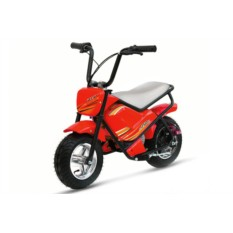 Красный детский электромотоцикл MC-243 (Joy Automatic)