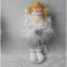 Новогодняя фигурка Девочка-ангелочек