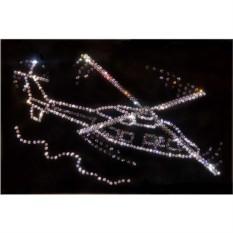 Картина Swarovski Вертолет Сикорского