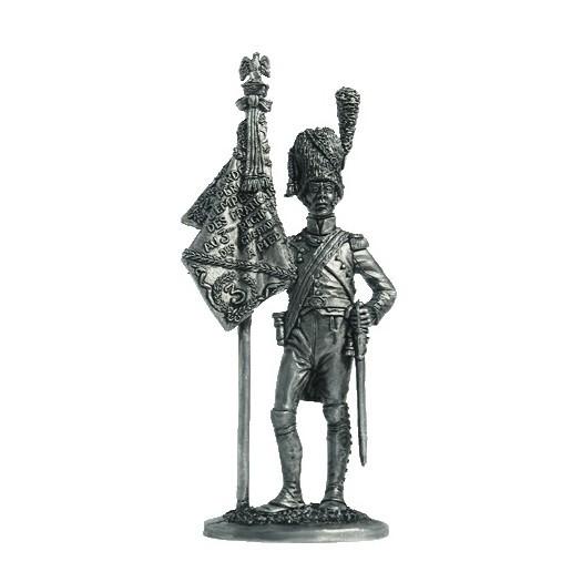 Орлоносец 3-го полка Пеших Гренадер. Фр., 1812 г.