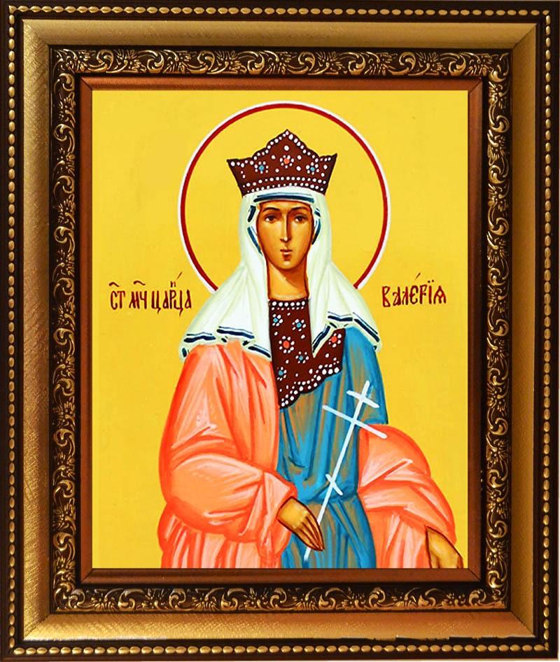 Икона Валерия Кесарийская Святая мученица, на холсте.