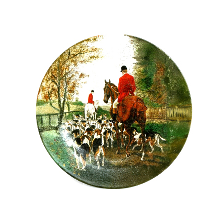 Декоративная тарелка «Английская охота»