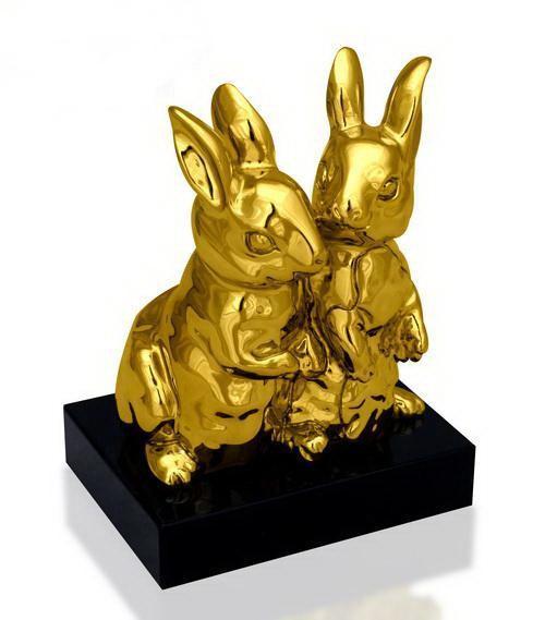 Статуэтка Парочка кроликов