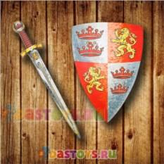 Игровой набор храброго рыцаря Щит и меч