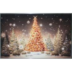 Картина с кристаллами Swarovski Новогодняя елка