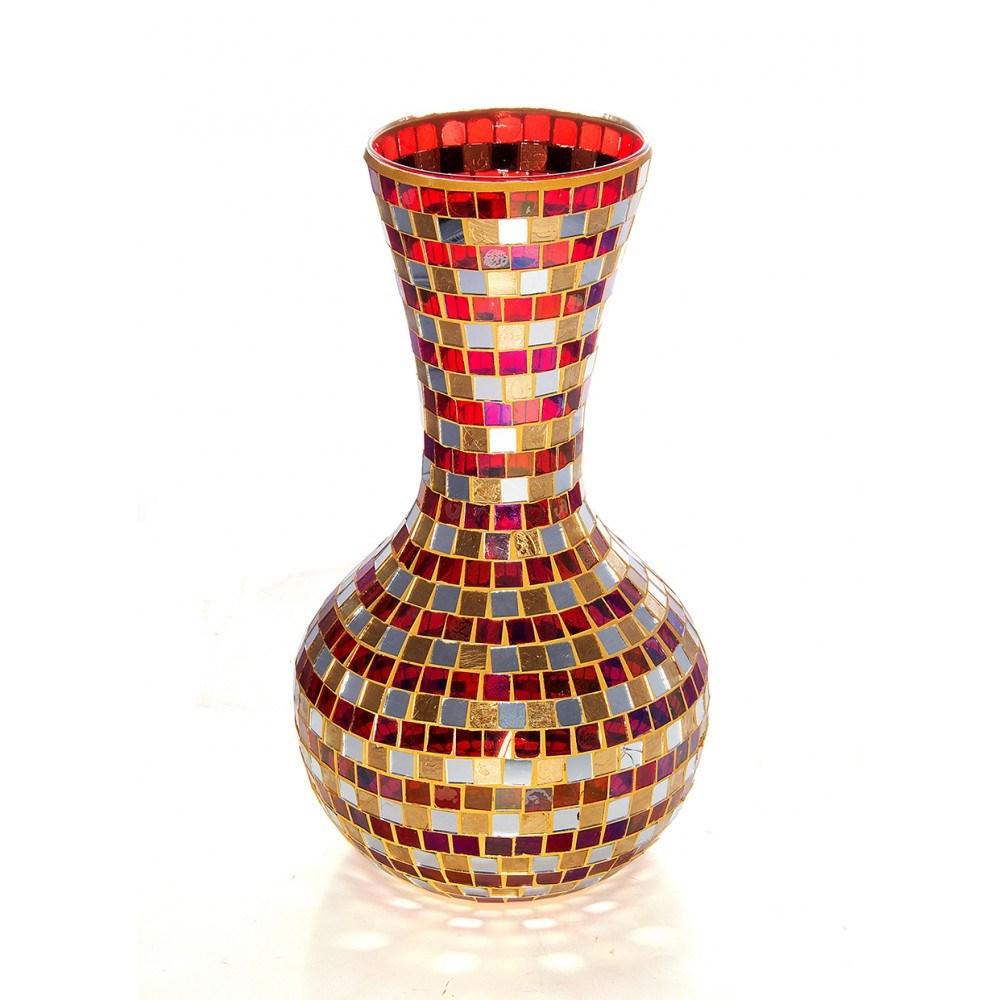 Стеклянная ваза Мозаика флоренции