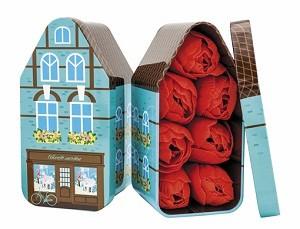 Мыло в форме бутонов тюльпана Дом где живут мечты