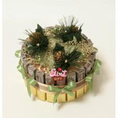 Букет из конфет Новогодний десерт