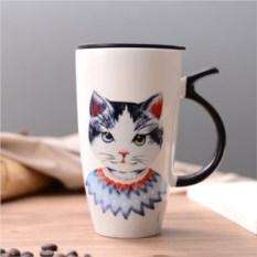 Кружка с крышкой Mr.Cat