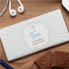 Шоколадная открытка Пасхальная