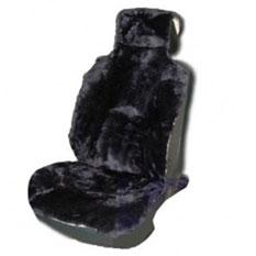 Накидка на сиденье из натуральной овчины. AUSKIN-GREY