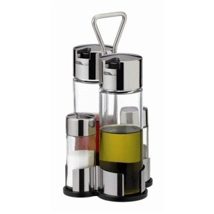Набор для масла, уксуса, соли и перца CLUB, Tescoma