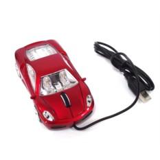 Компьютерная мышь Красный автомобиль