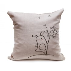 Декоративная подушка Кроль и Одуван