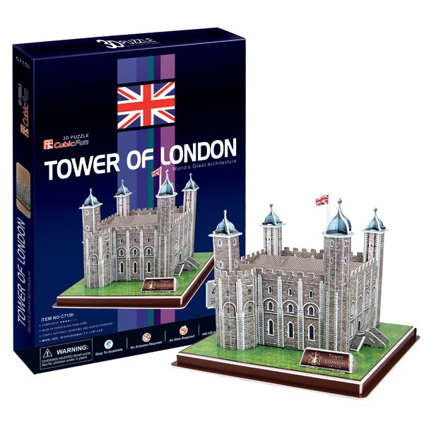 3D пазл Cubic Fun Лондонский Тауэр (Великобритания)