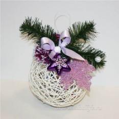 Букет из конфет Новогодний шарик №3