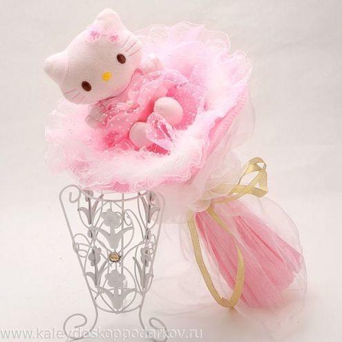 Букет из игрушек Котёнок