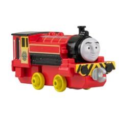 Игрушка Mattel Thomas&Friends Паровозик Джеймс с прицепом