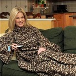 Плед с рукавами Snuggie, леопардовый