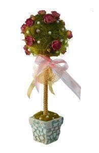 Сувенир Дерево из роз