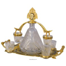 Водочный набор Барышня с коромыслом
