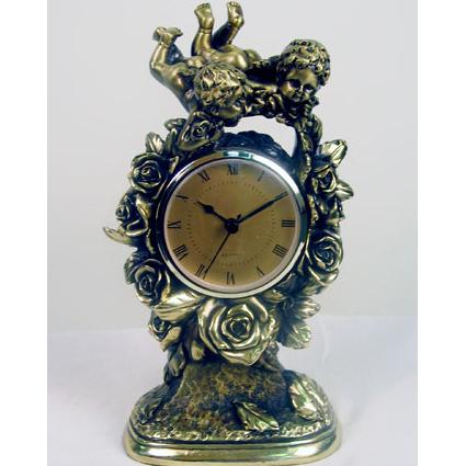 Часы бронзовые